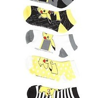 Pokemon Pikachu No-Show Socks - 179937