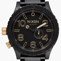 Nixon 51-30 Tide Watch Matte Black One Size For Men 26412718201