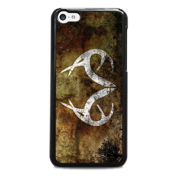 realtree deer camo iphone 5c case cover  number 1