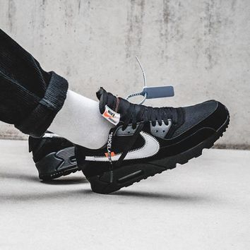 16d5c6b15d20d8 Nike x Off-White Air Max 90 OW Running shoes for leisure sports