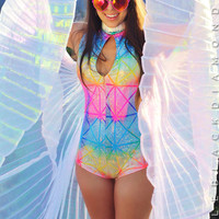 White Rainbow Isis Wings
