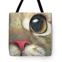 "The Face Tote Bag 18"" x 18"""