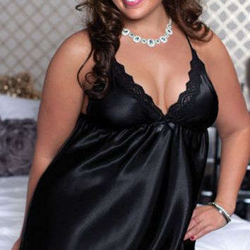 DCCK0OQ Cute Sexy On Sale Hot Deal Plus Size Lace Sleepwear Exotic Lingerie [8864109127]