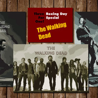 Walking Dead Rick,Glenn, Daryl Poster Deal! 3 for 1 Digital Downloads for easy Holiday Gifts and Wall Decor. Comes with three Tabloid Pdfs!