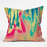 Elisabeth Fredriksson Summer Drink Throw Pillow