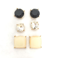Charming Stud Earrings Set