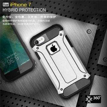 Hard Rugged Impact Phone Cases For iphone 6, iPhone 6s Plus, iPhone 7, iPhone 7 Plus