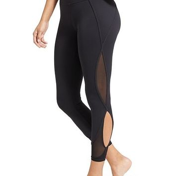 Mesh Salutation 7/8 Ankle Tight | Athleta