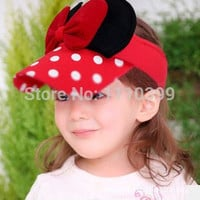 Choice of Girls Minnie Mouse Summer Visors Summer Hats