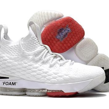 Off White X Nike Lebron 15 Sneaker Shoe | Best Deal Online