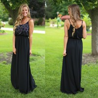 Intricate Design Maxi Dress