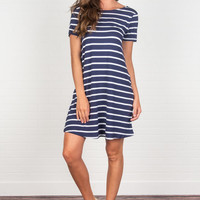 Such A Sweet Story Dress, Navy