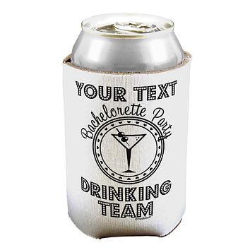 Personalized -Name- Bachelorette Party Drinking Team Can / Bottle Insulator Coolers