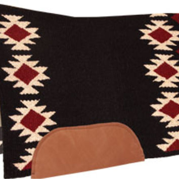 Saddles Tack Horse Supplies - ChickSaddlery.com Mustang Aztec Contoured Wool Saddle Pad