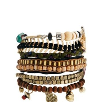 Pull&Bear Beaded Bracelet Multipack