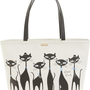 kate spade new york 'cool cat - francis' tote | Nordstrom