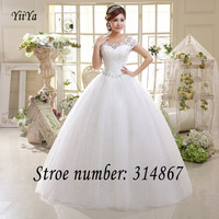 Free Shipping White or Red Cheap Lace Wedding Dress Princess Wedding Frocks Lace up 2016 Fashion Wedding Dresses Ball gown HS587