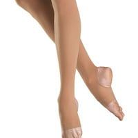 Child Stirrup Tights (Light Tan) T0938G