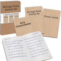 GRUMPY NOTEBOOK SET