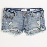 Bullhead Denim Co River Rock Fray Hem Shorts at PacSun.com