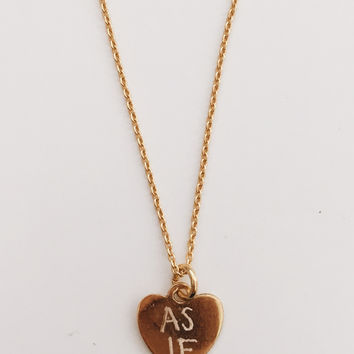 As If Necklace
