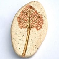 Handcrafted Horehound Nature Pin