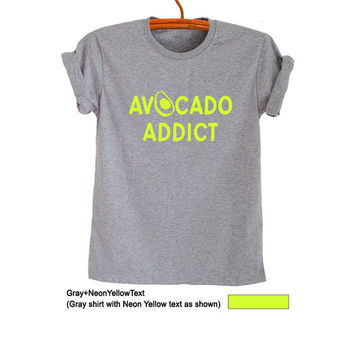 Avocado Shirt T-Shirts Funny Graphic Ladies Tops Womens Mens Teenager Fashion Sassy Cute Gym Cool Instagram Youtuber Twitter Polyvore