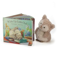 Original baby gift idea - JELLYCAT - Gift pack Wake Up Little Owl