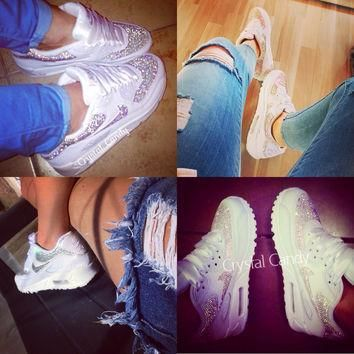 Nike Air Max 90's (Fully Crystallised - Send Us Your Own)