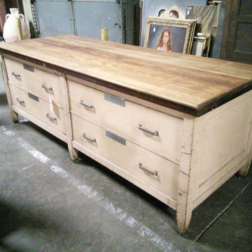 1890's Solid Mahogany Store Counter