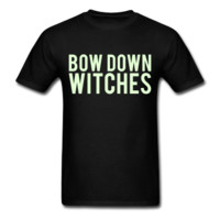 GLOW IN THE DARK PRINT! Bow Down Bitches, Unisex T-Shirt
