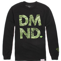 Diamond Supply Co Green Fill Long Sleeve Tee at PacSun.com