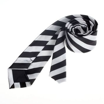 New Designer Brand Necktie Groom Gentleman Ties Men Wedding Party Formal Stripe Polyester Tie Necktie #1536