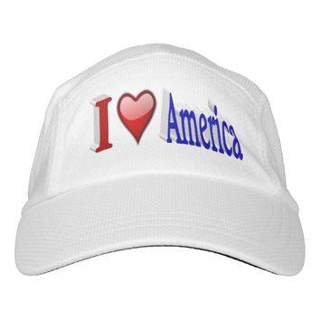 I Heart America 3DPerformance Hat