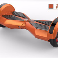 Orange Smart Electric Unicycle Self Balance 2 Wheels Scooter with bluetooth speaker