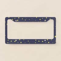 Starry Night License Plate Frame