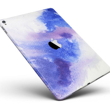 "Blue and Pink Watercolor Spill Full Body Skin for the iPad Pro (12.9"" or 9.7"" available)"