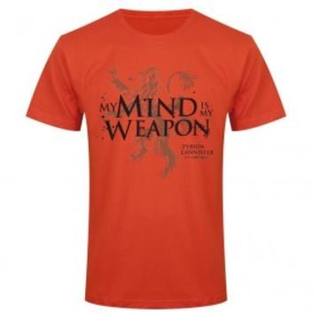 Game of Thrones My Mind Is My Weapon T-Shirt