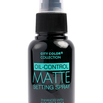 City Color Oil Control Setting Spray