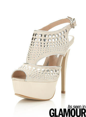 Pose Cream Studded Platform - Shoes - Going Out - Miss Selfridge