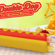 DOUBLE DOG - HOTDOG KETCHUP & MUSTARD DISPENSER