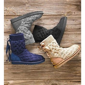 """UGG"" Fashion Comfortable knitting Warm Snow Boots"