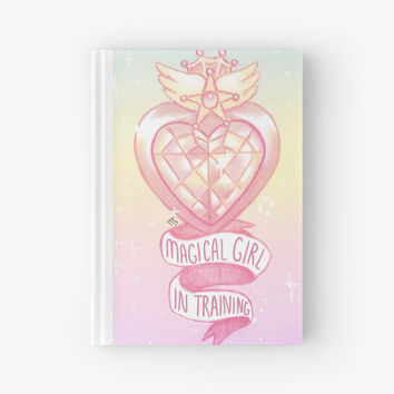 'Magical Girl In Training ' Hardcover Journal by Megan Frisco
