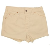Rokit Recycled Levi's Camel Denim Cut Off Hotpants W29 | Rokit Recycled | Rokit Vintage Clothing