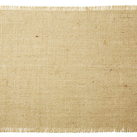 S/4 Burlap Place Mats, Natural