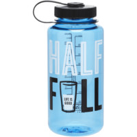 Half Full Water Bottle