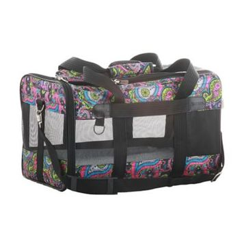 Sherpa Original Deluxe Pet Carrier in Paisley