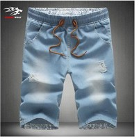 Men's Jeans  Popular fashion Shorts for surfboard