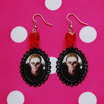 TATE  American Horror Story  cameo EARRINGS by NenaSideral on Etsy