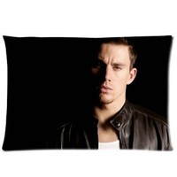 "Channing Tatum Pillowcase Covers Standard Size 20""x30"" CC3531"
